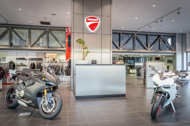 Ecco lo showroom di Ducati Roma