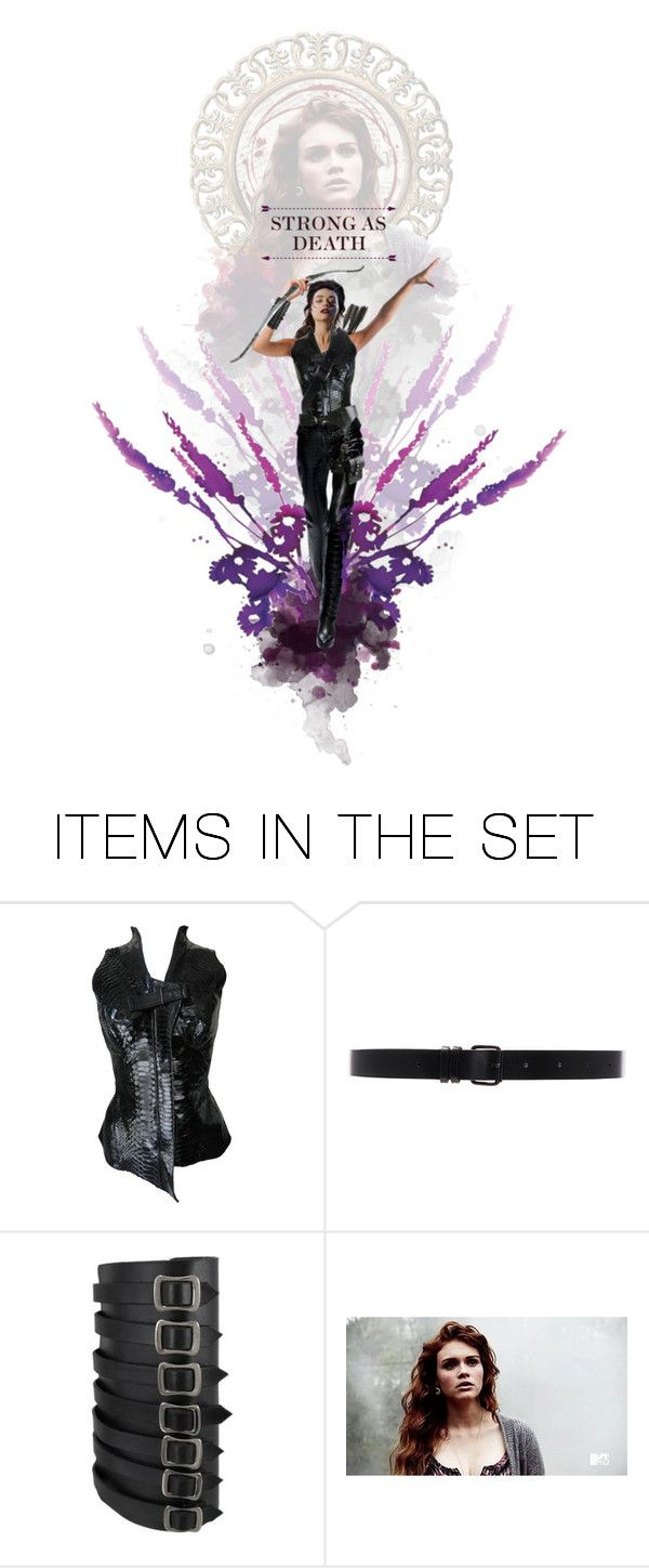 """Strong as Death - Allison Argent (Teen Wolf)"" by elissawhostood ❤ liked on Polyvore featuring art"