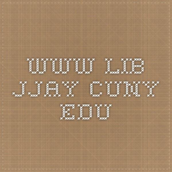 www.lib.jjay.cuny.edu