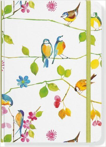 2014 Watercolor Flowers 16Month Weekly Planner Compact Engagement Calendar Diary