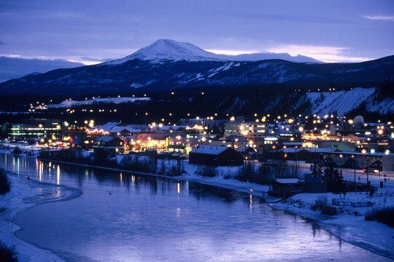 Whitehorse , Yukon..Such a friendly city, did live here as a kid while my Dad trained Canadian Army Troops for winter survival