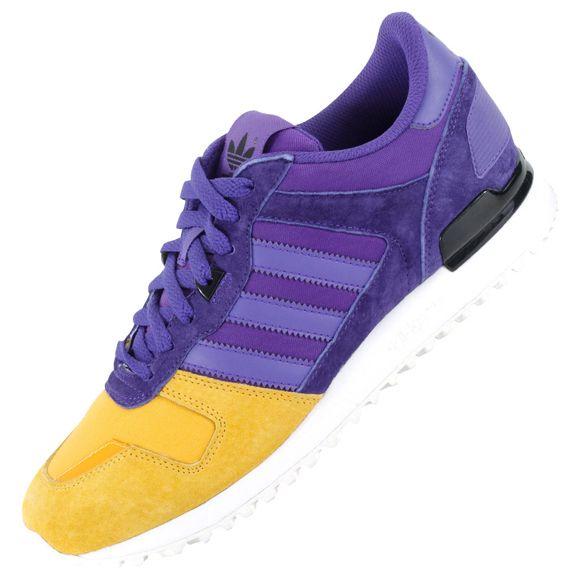adidas Originals ZX 700 Blaze Purple Yellow Ray