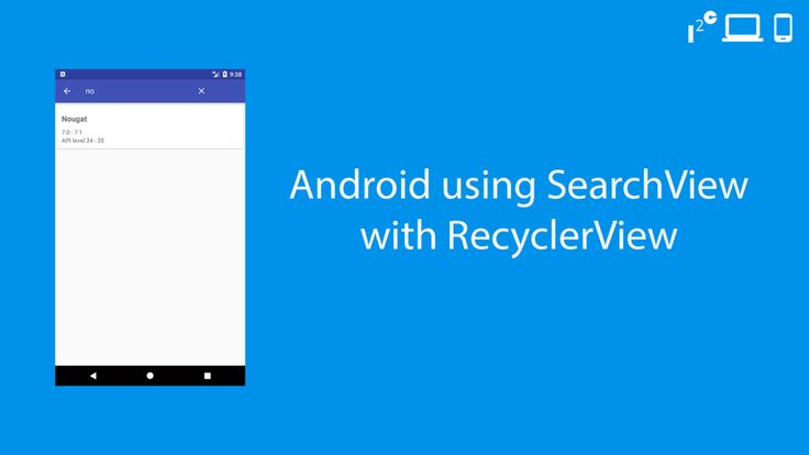 recyclerview search
