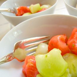 honey lime melon Salad