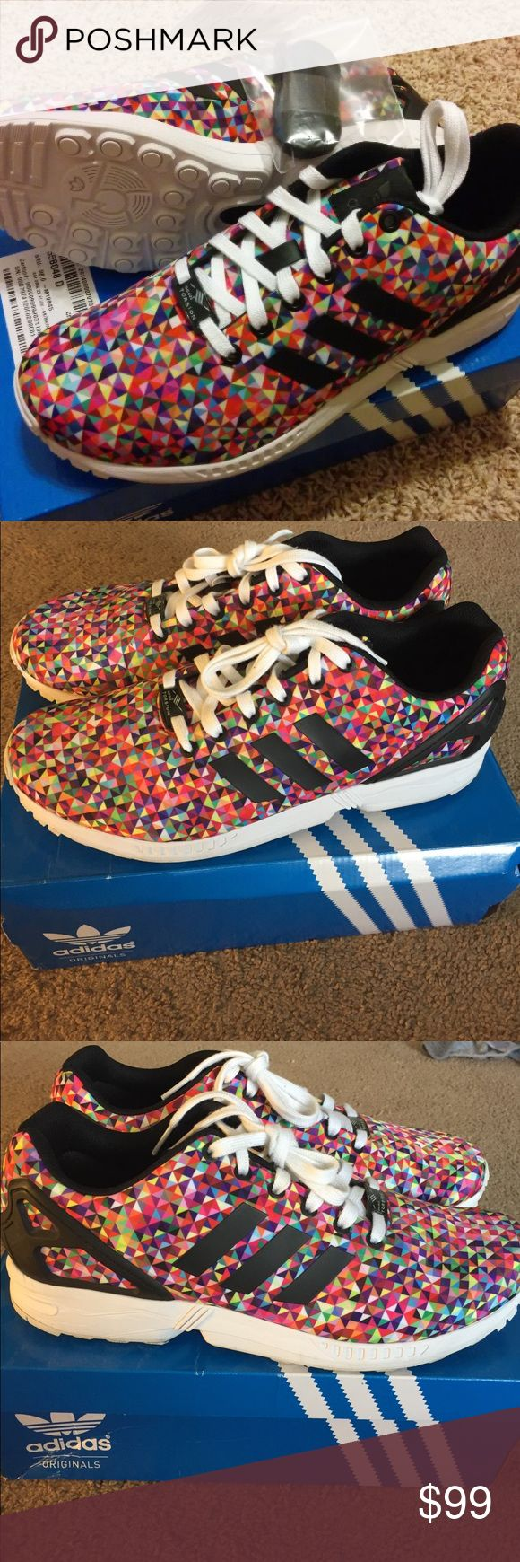 Adidas ZX Flux Multicolor Prism Size 11 Adidas ZX Flux Multicolor Prism Size 11 Men's Great Condition - Only worn a couple of time adidas Shoes Athletic Shoes