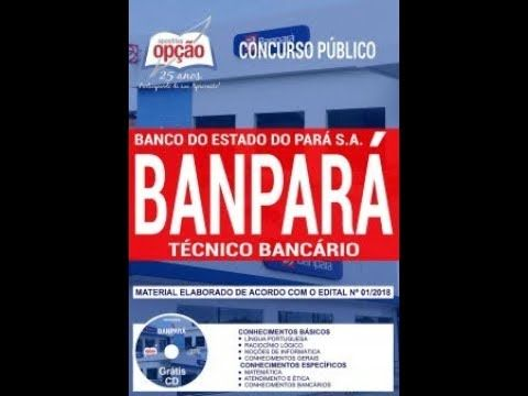 Apostila Concurso Banpara 2018 Tecnico Bancario Pdf Download