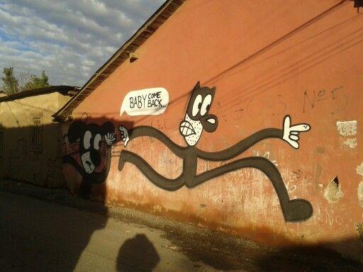 Mural calle Buin, Putaendo