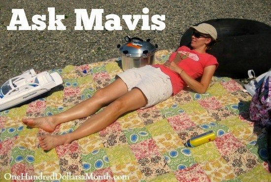 Ask Mavis – Household Budgets, Pet Care Costs, Flu Shots and Cover Crops