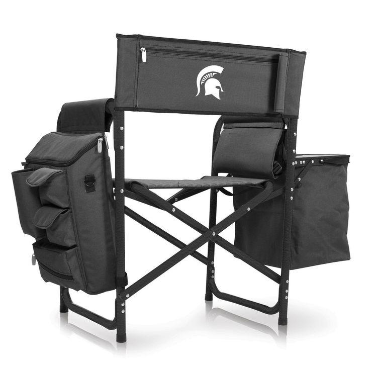 College Logo Stuff - MSU Spartans Fusion Tailgating Chair, $149.95 (https://collegelogostuff.com/msu-spartans-fusion-tailgating-chair/)