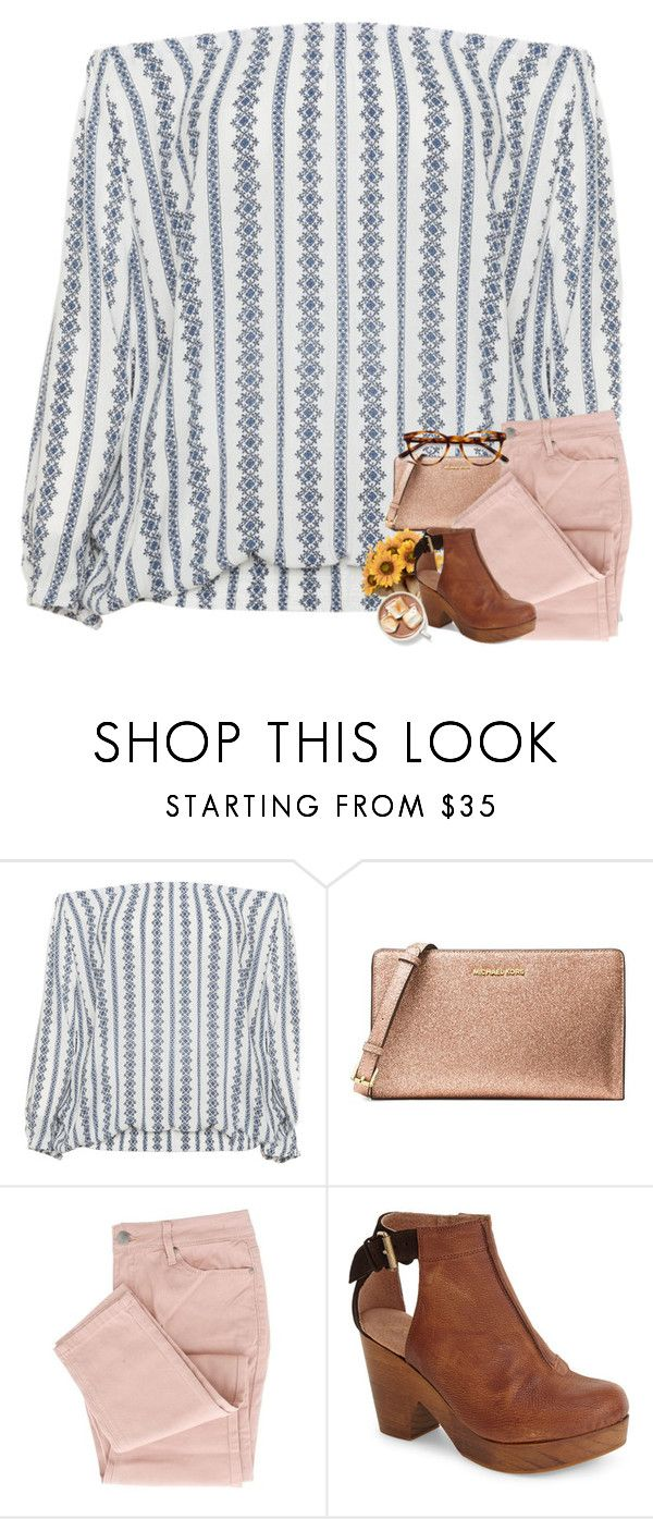 """""""After the storm blows through.."""" by wildasyou ❤ liked on Polyvore featuring Zizzi, MICHAEL Michael Kors, Free People and EyeBuyDirect.com"""