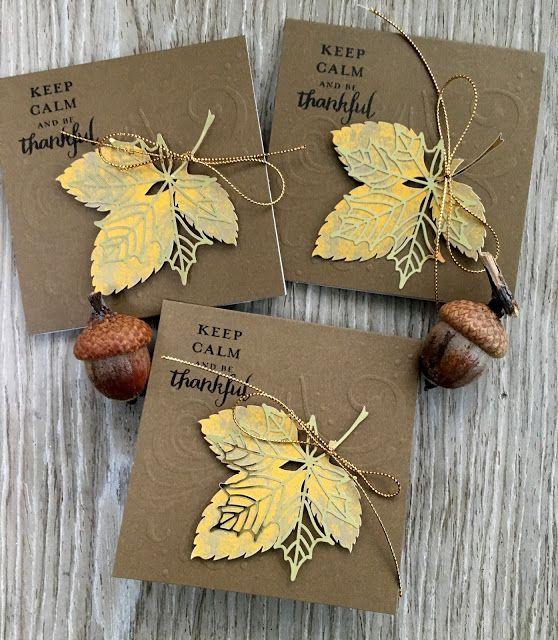 Paper Pumpkin September 2017 Layered Leaves