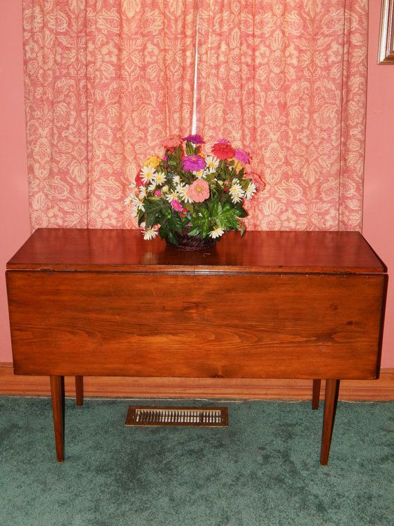 Shaker drop leaf table plans woodworking projects plans for New england style desk