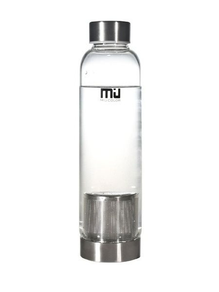 Glass Water Bottle with Tea Infuser