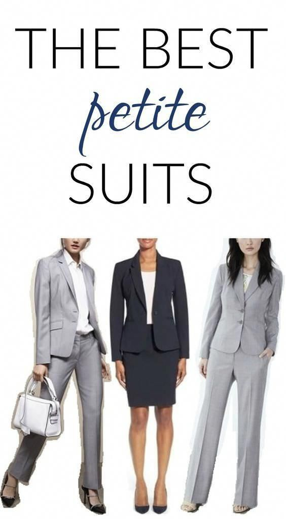 fd19230bebf1f Which are the best brands and styles for plus size suits, petite suits,  tall suits, and maternity suits? Readers weigh in. #curvypetitefashion