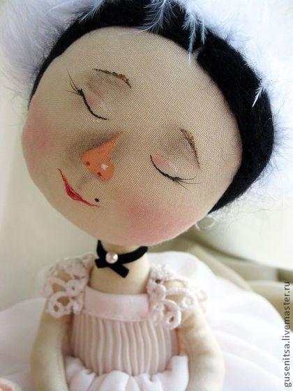 Плисецкая. - балерина,гапчинская,интерьерная кукла,авторская ручная работа