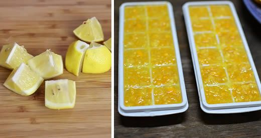 congelare limone