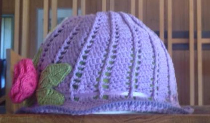 Panama hats for girls by TriSiDesign on Etsy