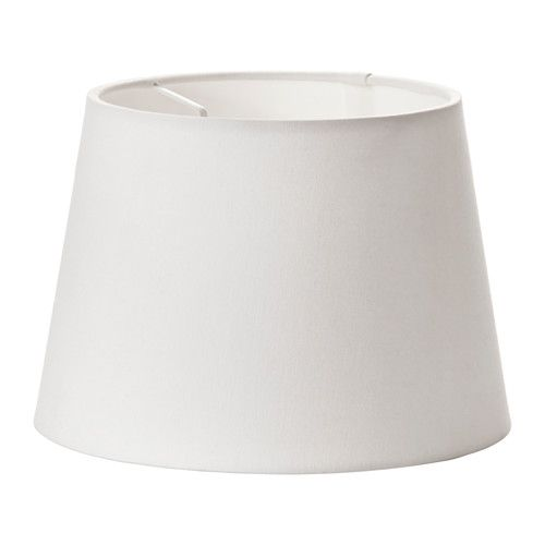 "IKEA - JÄRA, Lamp shade, white, 9 "", , Create your own personalized pendant or table lamp by combining the lamp shade with your choice of cord set or lamp base.You can create a soft, cozy atmosphere in your home with a textile shade that spreads a diffused and decorative light."