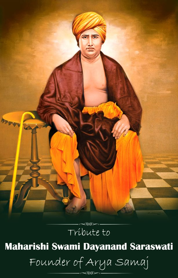 Humble tributes to spiritual leader and social reformer Maharishi Swami Dayanand Saraswati ji on his Jayanti. www.narayanseva.org #Tribute
