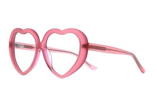 9b2d8d70de0 Zenni Kids Heart-Shaped Prescription Eyeglasses Pink Plastic 4420119 ...