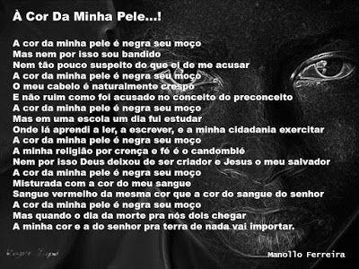 A Quem Me Degusta Por Me Sorver...!: Dia Da Consciência Negra...! - 20 De Novembro