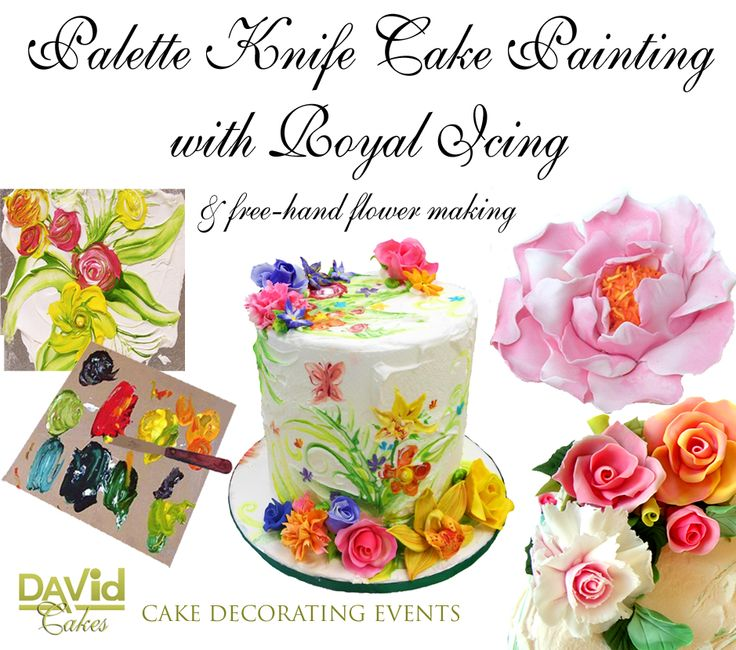 Cake Decorating Course Salisbury Uk : David Cakes Royal Icing cake decorating cake painting ...