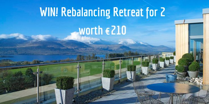 #COMPETITION WIN! Rebalancing Retreat for 2 at Aghadoe Heights Hotel & Spa worth €210. Begin your spa day with a journey in the Thermal Suite, 30min spa treatment each, time in the holistic Precious Stone Chamber before relaxing in the Relaxation Area with seasonal sorbets and herbal teas. To Enter Simply Answer the Question via the Link, Good Luck  🗻🍃