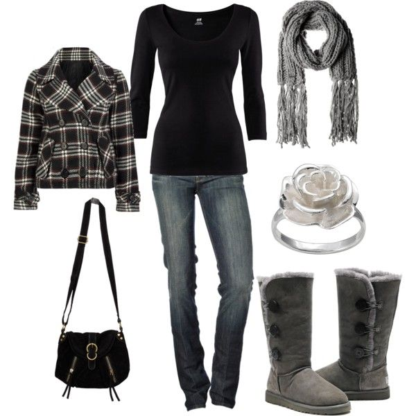 """Warm and Cozy"" by jklmnodavis on Polyvore"