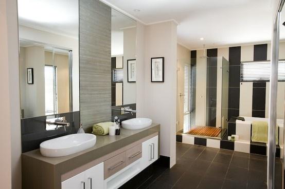 Ex-display home bathroom