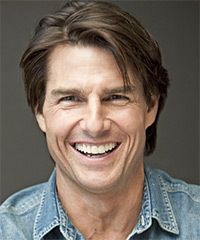 Tom Cruise Hairstyle - Casual Short Straight