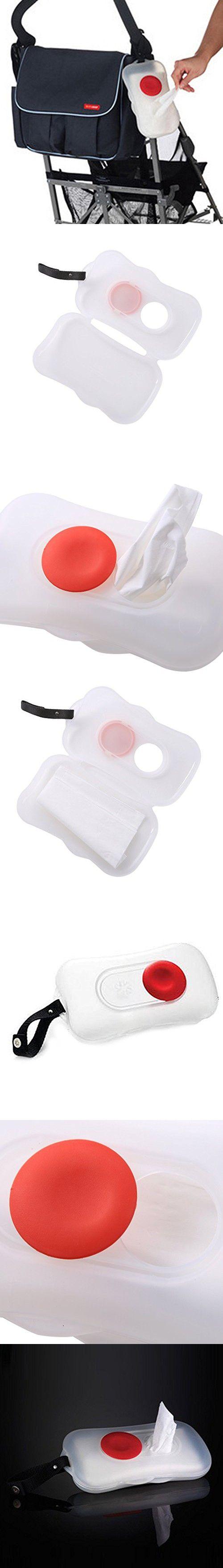 Portable Baby Wet Wipes Box Wet Tissue Case Carrier Dispenser