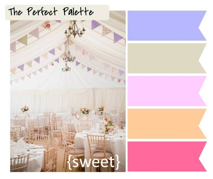 sweet http://www.theperfectpalette.com/2012/02/5-festive-ways-to-use-bunting-in-your.html