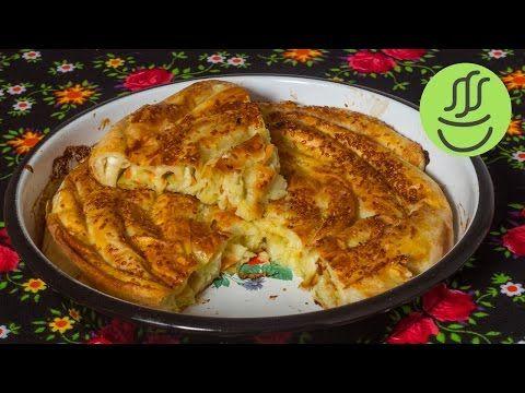 Pırasalı Börek - Hazır Yufkadan Kolay Pırasa Böreği Tarifi - YouTube
