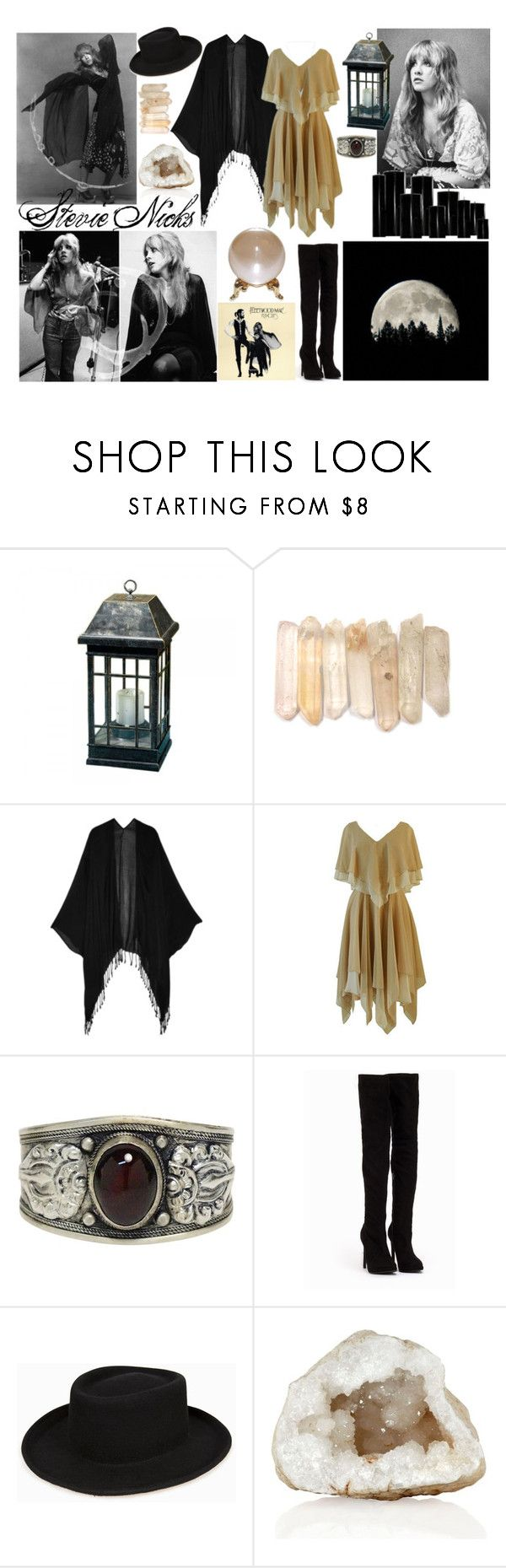 """""""Songs for the Witch Woman / / Stevie Nicks / / Tag"""" by magickofthelema ❤ liked on Polyvore featuring Tart, Nly Shoes, witch, kimono, stevienicks and witchy"""