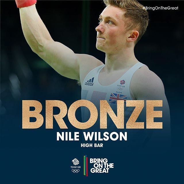 Our gymnasts are KILLING IT! Nile Wilson, say hello to your #BRONZE medal…