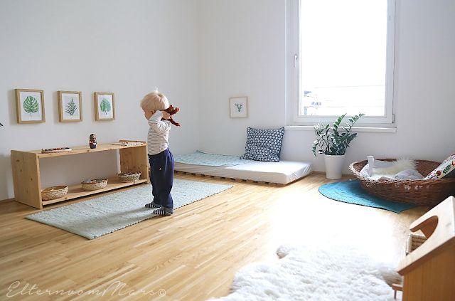 Was macht eine vorbereitete Umgebung nach Montessori zuhause aus?