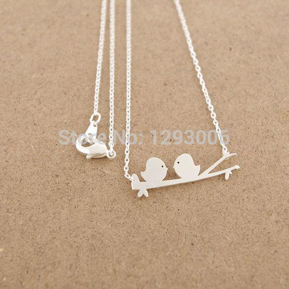 30 ШТ.-N027 Мода Милый Ребенок Птица Ожерелье Крошечные Воробей Ожерелье Мелких Летающих Птиц Ожерелье Ласточка Ожерелья для женщины