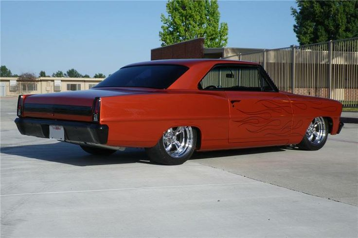 Chevy II Nova. Gotta love this body style. Oh, and it has ...