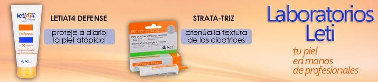 Dale a la #piel los #cuidados que necesita. Elige productos de Laboratorios Leti, ¡con un #descuento increible!