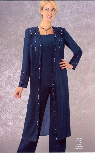 Dressy Pant Suits Biography   Source(google.com.pk)   Getting glam doesn't always have to mean breaking out the LBD. Dressy pantsuits can ...