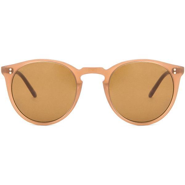 Oliver Peoples O'Malley NYC Sunglasses (6.015.365 IDR) ❤ liked on Polyvore featuring accessories, eyewear, sunglasses, glasses, acetate sunglasses, oliver peoples eyewear, lens glasses, oliver peoples and oliver peoples glasses