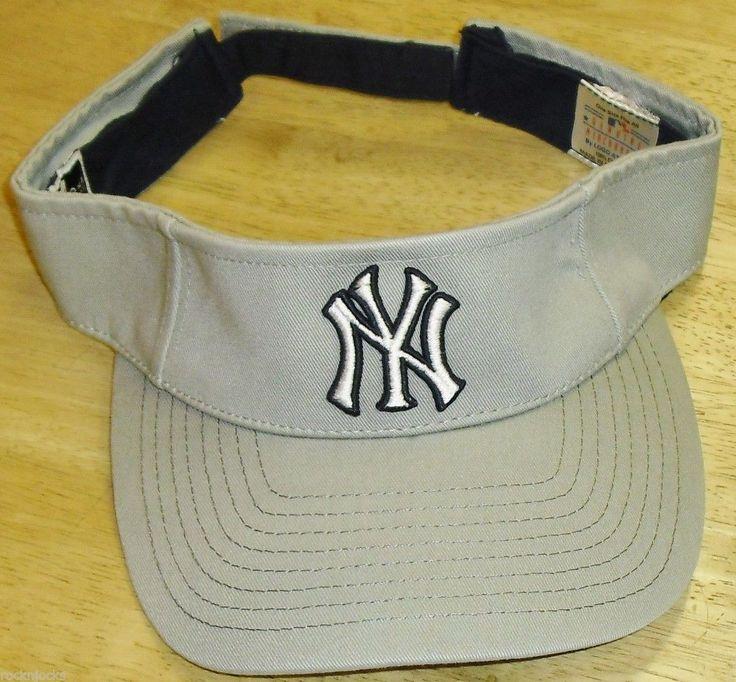 New York Yankees Vintage 90s Visor Brand New NY Logo MLB Puma Jeter Years | eBay