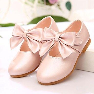 MEISJE+-+Ronde+Teen+-+Platte+schoenen+(+Roze/Goud/Koraal+)+–+EUR+€+9.79
