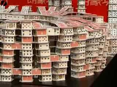 Beijing Olympic Card Stack