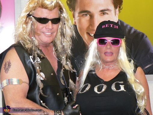 Dog the Bounty Hunter and Beth - Halloween Costume Contest ...