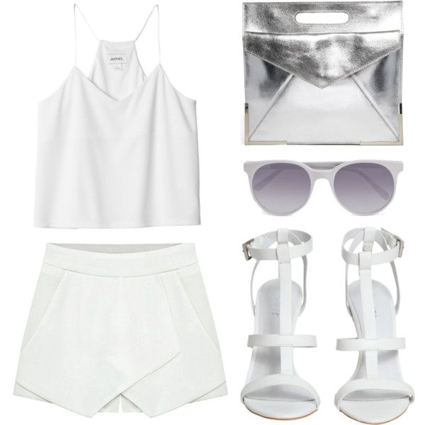 """Look 11 - Shining"" by splashthestyle on Polyvore polyvore, fashion set, fashion, ootd, collage, minimal, outfit"