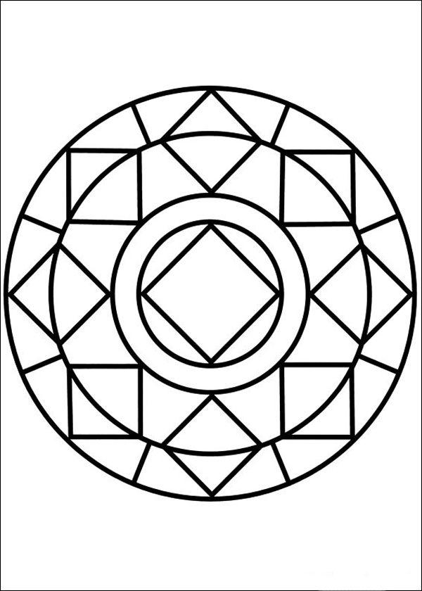 Image Result For Desenho De Flores Para Fazer Mosaico Mandala