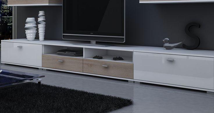 Stolik RTV #nowoczesnemeble #mebledosalonu #meble #minimalistycznemeble #mebleniemieckie #dom #aranzacjedom #aranzacje