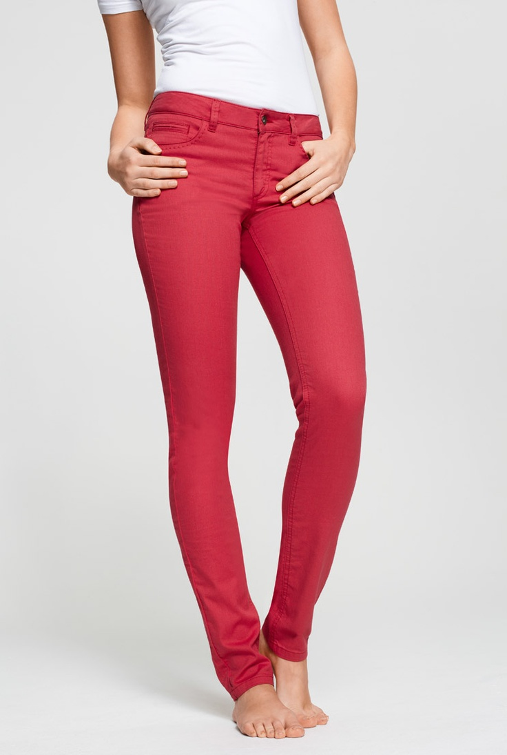 Long Jeans For Tall Girls - Trendy Peach Camden Skinny Jeans At LTS
