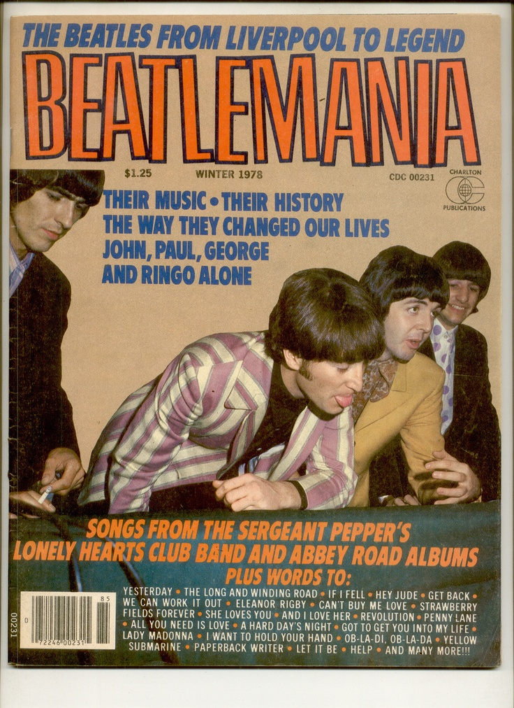 #Beatlemania  #FanMagazine  #Beatles